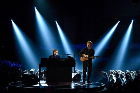 Grammy Performance - Elton John and Ed Sheeran