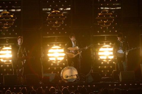 Grammy Performance - Mumford & Sons
