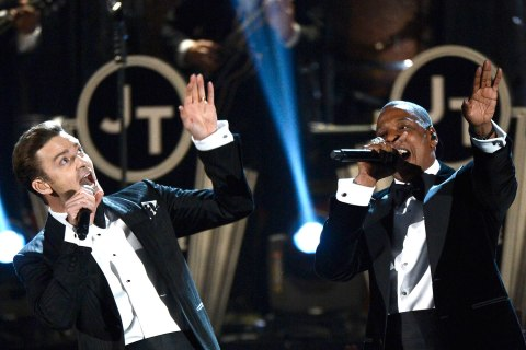 Grammy Performance - Justin Timberlake and Jay-Z