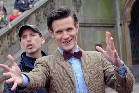 """Image: On Location For """"Doctor Who"""""""