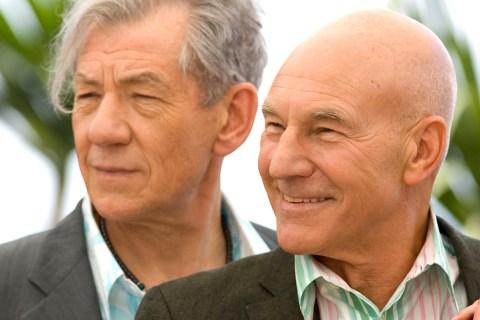 Image: Sir Ian McKellen, Patrick Stewart