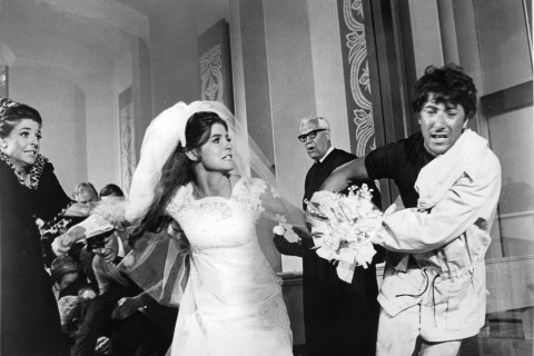Ann Bancroft And Dustin Hoffman In 'The Graduate'