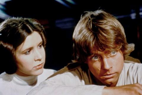 Populist – Return of the Jedi – Luke and Leia