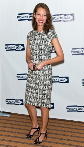 Honoree Christy Turlington Burns attends the 36th Annual Women's Way Powerful Voice Awards at the Sheraton Philadelphia Downtown Hotel in Philadelphia, on May 9, 2013.