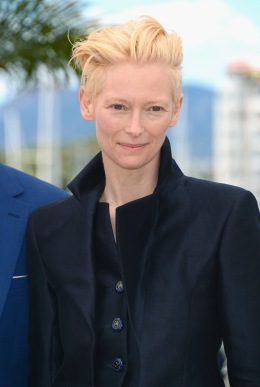 Tilda Swinton at the 66th Annual Cannes Film Festival at the Palais des Festivals on May 25, 2013 in Cannes, France.