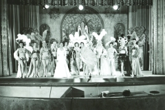Chorus Girls on the Burlesque Stage