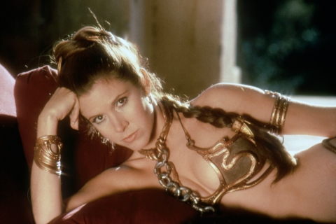Populist - Return of the Jedi - Leia in Gold Bikini