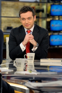 """Michael Hastings on """"CBS THIS MORNING"""" in New York City, on Jan. 19, 2012 on the CBS Television Network. (Photo by"""