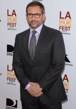"""Steve Carell attends the 2013 Los Angeles Film Festival premiere of the Fox Searchlight Pictures' """"The Way, Way Back"""" in Los Angeles, on June 23, 2013."""