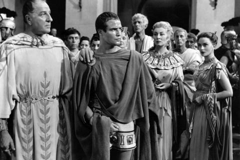 Marlon Brando in Julius Caesar