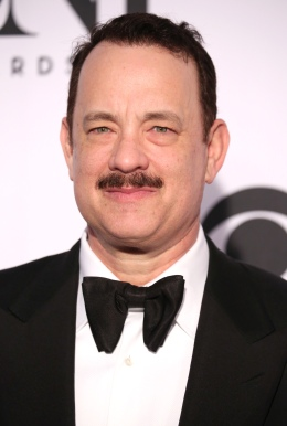 Tom Hanks arriving at the 67th Annual Tony Awards held at Radio City Music Hall in New York City on June 9, 2013.