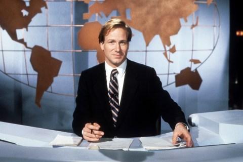 William Hurt In 'Broadcast News'