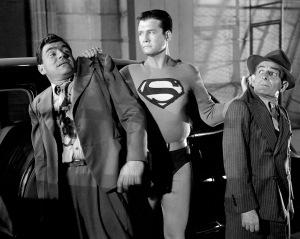 George Reeves in THE ADVENTURES OF SUPERMAN