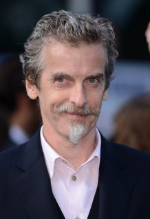 Peter Capaldi attends the World Premiere of 'World War Z' at The Empire Cinema in London, on June 2, 2013.
