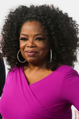 Oprah Winfrey at Regal Cinemas L.A. Live in Los Angeles, on Aug. 12, 2013.