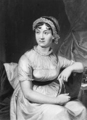 An Original family portrait of English novelist Jane Austen.