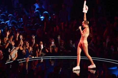 Miley Cyrus at the VMAs
