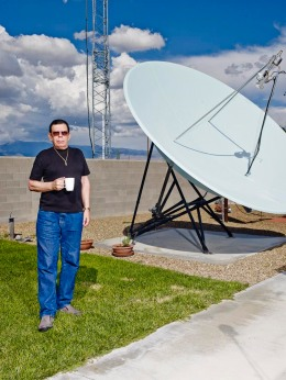 Art Bell photographed at his home Pahrump, Nevada, on Tuesday, Sept. 3, 2013.