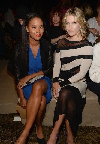 Donna Karan New York - Front Row & Backstage - Spring 2014 Mercedes-Benz Fashion Week