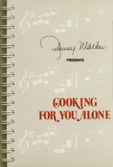 Johnny Mathis cookbook