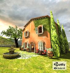 Unity Demo in Oculus