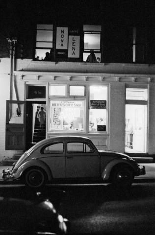 Caffè Lena, 47 Phila Street, Saratoga Springs NY, 1960