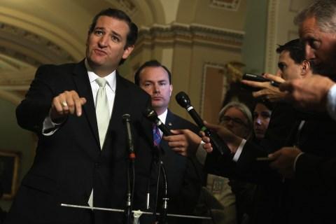 Ted Cruz / US Senate Votes On House Spending Bill