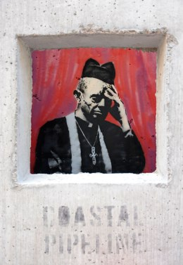 Banksy invasion of NYC on day 12, Cooper Union