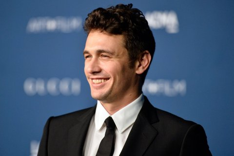 James Franco arrives at the LACMA 2013 Art + Film Gala on Nov. 2, 2013 in Los Angeles.