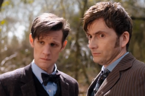 Dr. Who - The Day of the Doctor - grab