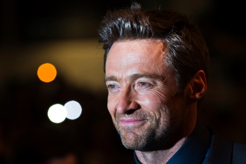 "Australian actor Hugh Jackman arrives for the ""Prisoners"" screening at the 38th Toronto International Film Festival"