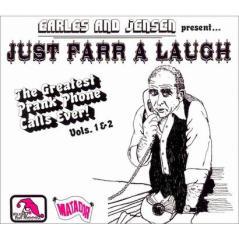 Just Farr a Laugh - Earles and Jensen - albuma art