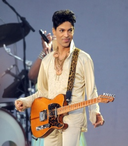 Prince performs at the Hop Farm festival at The Hop Farm on July 3, 2011, in Paddock Wood, England.