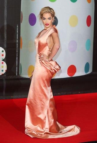 10. Rita Ora in Ulyana Sergeenko
