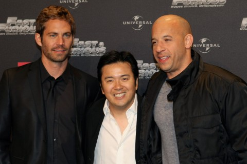Walker, Lin and Diesel at Fast & Furious Europe Premiere