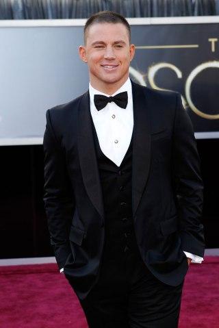 9. Channing Tatum in Gucci