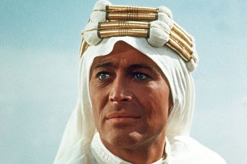 Cinema Personalities pic: 1968. Actor Peter O'Toole as Lawrence of Arabia.