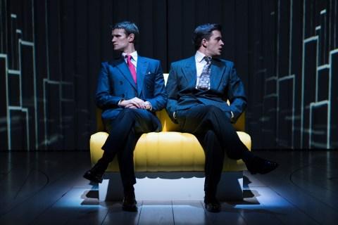 American Psycho - Matt Smith (Patrick Bateman) & Jonathan Bailey (Tim Price) Photographer Manuel Harlan.
