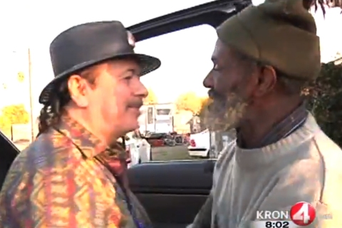 Carlos Santana, Marcus Malone
