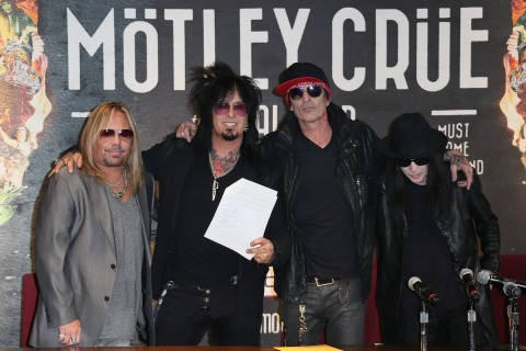 Motley Crue News Conference