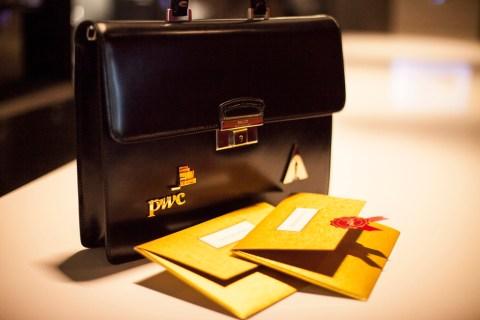 PwC Oscars Briefcase