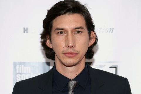 "Actor Adam Driver attends the ""Inside Lleywn Davis"" premiere in New York City, September 28, 2013."