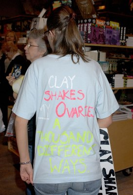"Clay Aiken CD Signing at Virgin Megastore of ""A Thousand Different Ways"" in Hollywood - September 26, 2006"