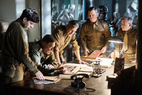 "George Clooney's newest film, <i>Monuments Men</i>, follows the exploits of an Allied platoon of seven ""Monuments Men"" who enter Germany during the end of World War II to rescue art stolen by the Nazis."
