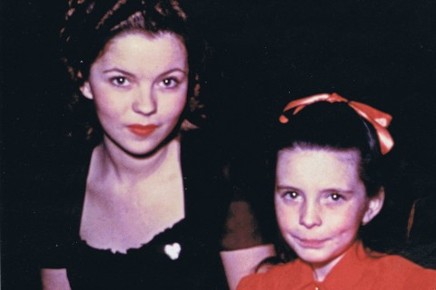 Shirley Temple and Margaret O'Brien, Valentine's Day 1945