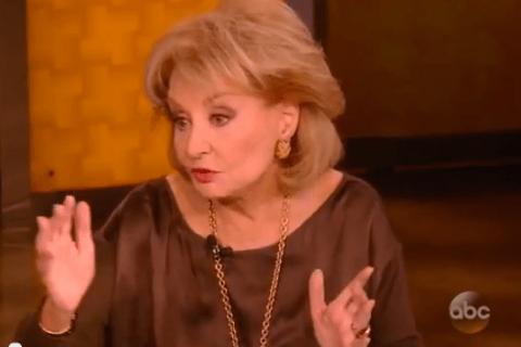 Barbara Walters Screenshot