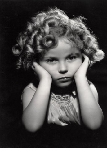 Child star Shirley Temple, c. 1933.