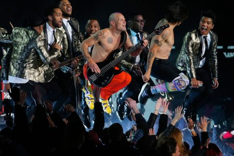 Bruno Mars, The Red Hot Chili Peppers
