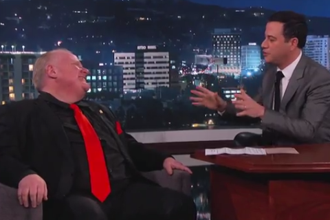 jimmy kimmel rob ford